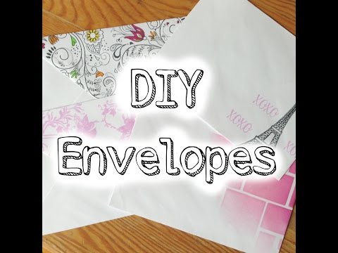 DIY Decorating Envelopes: Adding Details