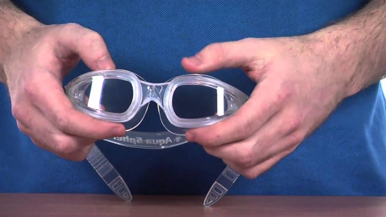 8ee0248a7fd Aqua Sphere Eagle Goggles - www.simplyswim.com - YouTube