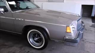 DustyOldCars.com 1983 Buick Park Ave SN 1635