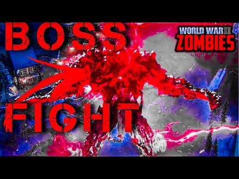 world war II Zombies-'FINAL REICH'BOSS FIGHT &CUT SCENE!(Solo)