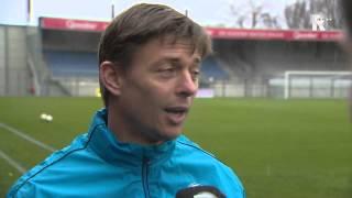 Dennis van Eersel spreekt Jon Dahl Tomasson over de derby tegen Sparta