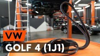 Cum și când se schimba Curea transmisie cu caneluri VW GOLF IV (1J1): ghid video