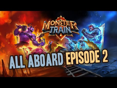 The Start of a Healing Build (Let's Play Monster Train EP2) |