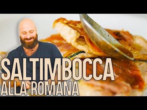 Hop Hop, GNAM! Saltimbocca Alla Romana FACILI E VELOCI - Ciro D'Italia   Cucina Da Uomini