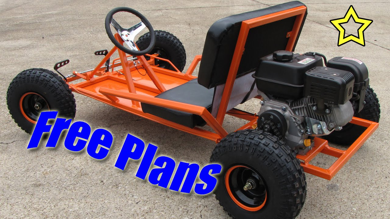 Go kart build free plans pdf download youtube for What goes into building a house