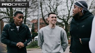 YUNG FILLY & CHUNKZ ft. PHIL FODEN | PAVEMENT TO PITCH