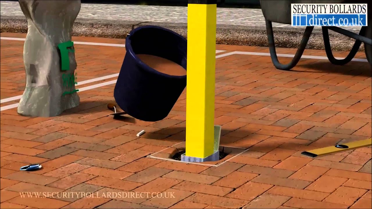 How To Install And Use A Removable Lift Out Parking Post On A