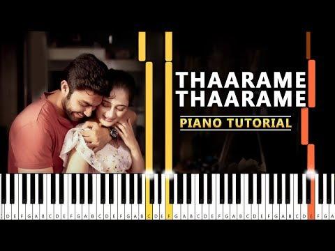 thaarame-thaarame-piano-tutorial-|-kadaram-kondan-|-synthesia-tamil-songs-|-tharame-piano-notes