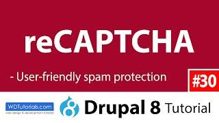 видео Drupal captcha