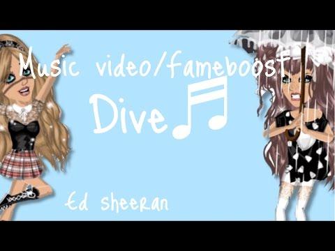 Fameboost music video dive ed sheeran moviestarplanet msp youtube - Dive ed sheeran ...