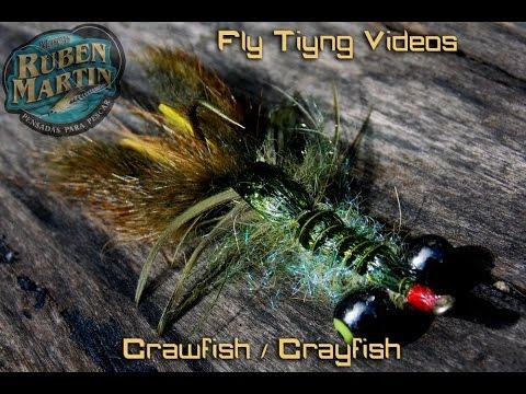 Crawfish - Crayfish Fly Tying Instructions By Ruben Martin