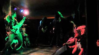 "Skeletonwitch - ""Burned From Bone"" live"