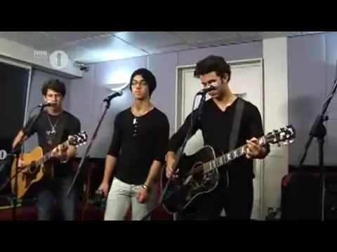 Jonas Brothers  Paranoid  Performance On BBC 1 Radio  Lounge