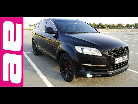 audi q7 4 2 v8 quattro supercharged style 324 youtube. Black Bedroom Furniture Sets. Home Design Ideas