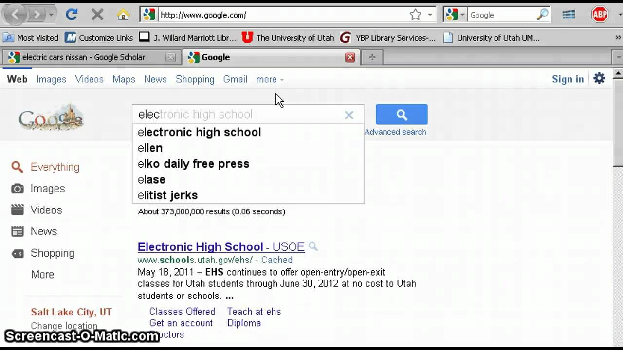 how to get to google scholar