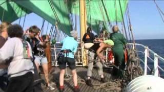 """Segeltörn auf dem Becks-Schiff """"Alexander von Humboldt"""""""