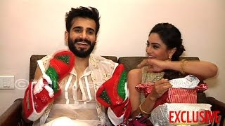 Karan and Krystle receive gifts from fans PART 3
