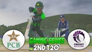 PAKISTAN vs SCOTLAND 2ND T20 GAMING SERIES - ASHES CRICKET 17