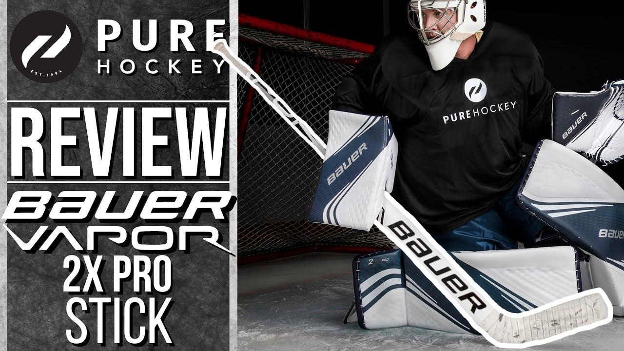 Bauer Vapor 2x Pro Goalie Stick Product Review Youtube