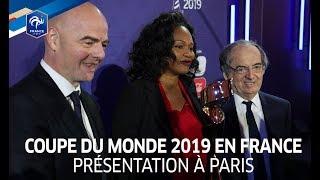 Féminines, Coupe du Monde la FIFA France 2019: le lancement à Paris I FFF 2017