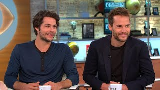"Dylan O'Brien and Taylor Kitsch talk ""American Assassin"""