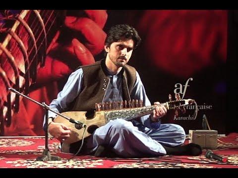 Liaquat Humayun Rubab Player at All Pakistan Music Conference, Alliance Francaise de Karachi