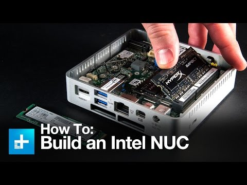 How to build out an Intel NUC mini PC