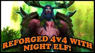 Grubby | Reforged 4v4 with Night Elf!