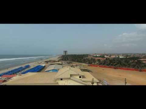 La Badi Beach, Accra, Ghana   Arial Impressions 2016