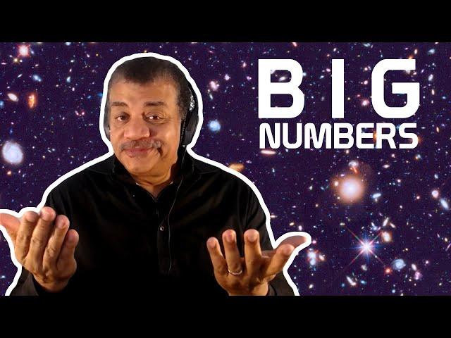 Neil deGrasse Tyson Explains Big Numbers