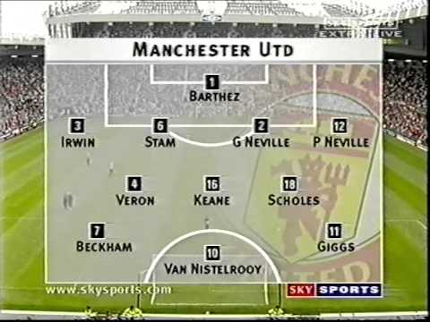 Manchester United v Celtic August 1 2001 1/3