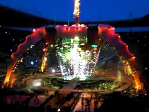 U2 Stade de France 12 juillet 2009 - city of blinding lights