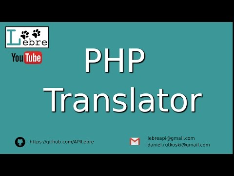 PHP Translator