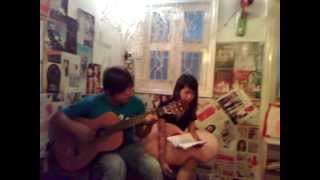 """Khép Mi Lại """"Singer: Nguyễn Hồng Loan & Guitar Cô Khách"""""""