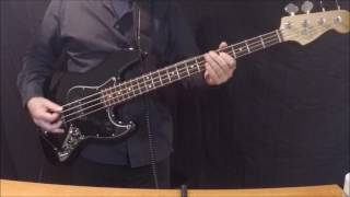Thin Lizzy The Boys Are Back In Town Bass Cover