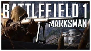 Battlefield 1 - Marksman Gameplay Montage