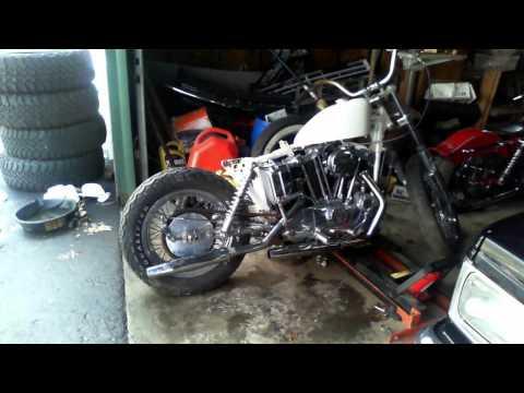 1973 Harley Ironhead Kickstart