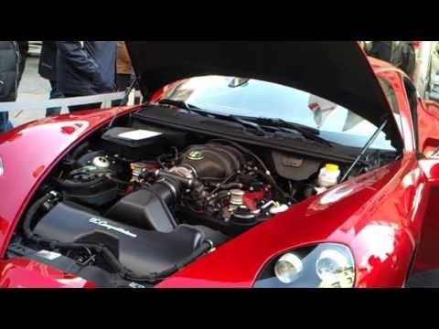 Alfa Romeo 8C Competizione - Звук двигателя - радио версия