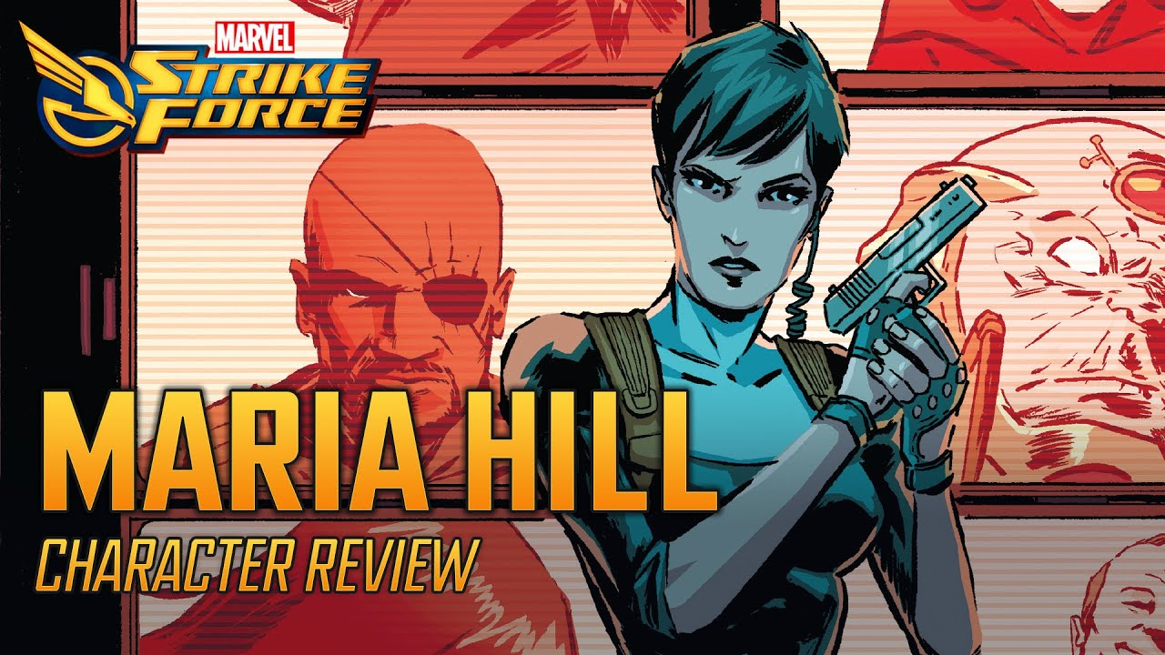 Maria Hill | Character Review - MARVEL Strike Force