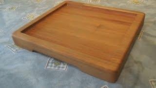 Making A Wooden Platter/plate
