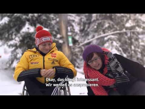 Ziel: Sotschi! Anja Wicker im Interview -- barrierefrei