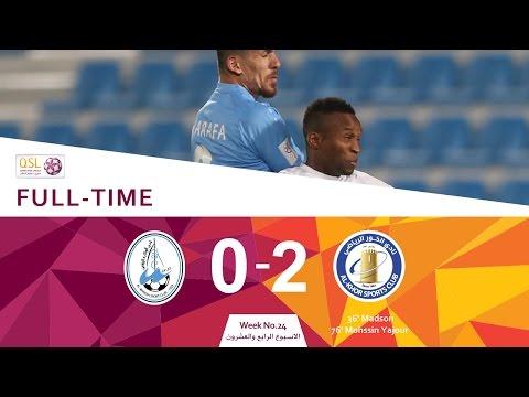 Al Wakrah 0 - 2 Al Khor (Week 24)
