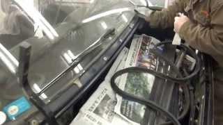 東京都 小平市よりご来店 ホンダ プレリュードのオールペイント作業です。【板金塗装なら東京立川市のガレージローライド】 thumbnail