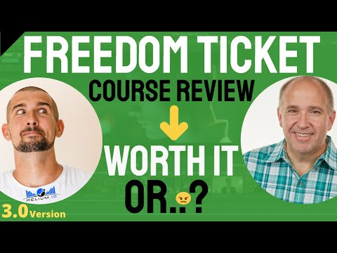 Freedom Ticket Course Review | Kevin King Amazon - WORTH IT?
