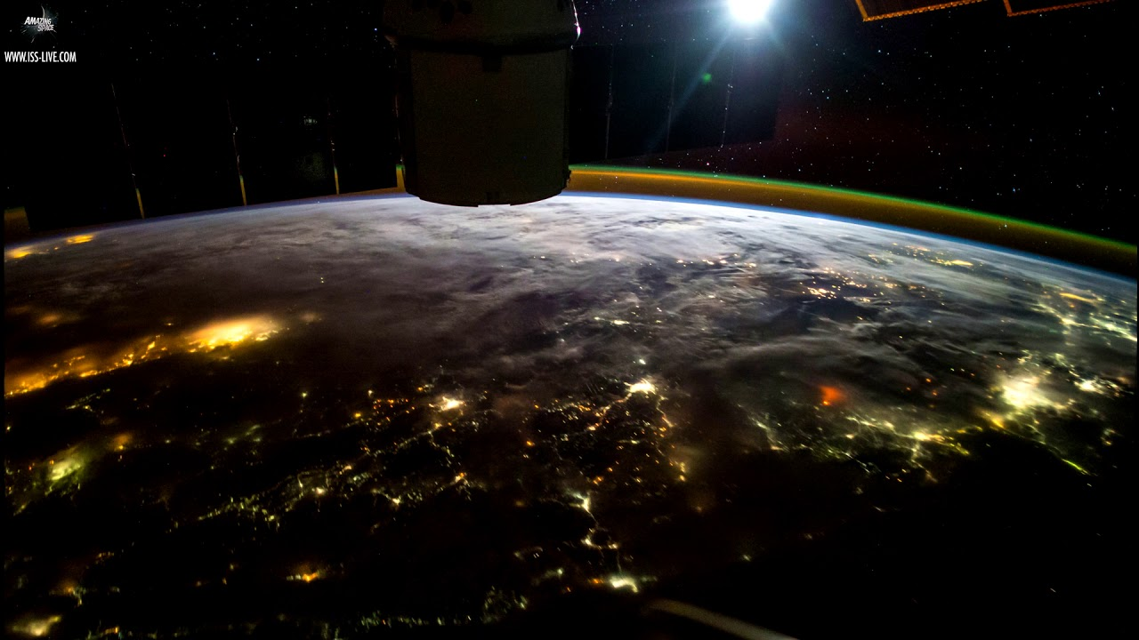 Earth - Our beautiful planet seen from the Space Station ...