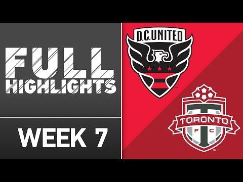 HIGHLIGHTS: D.C. United vs Toronto FC | April 16, 2016