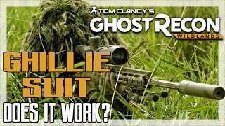 Ghillie Suit - Does it Work? - Ghost Recon Wildlands