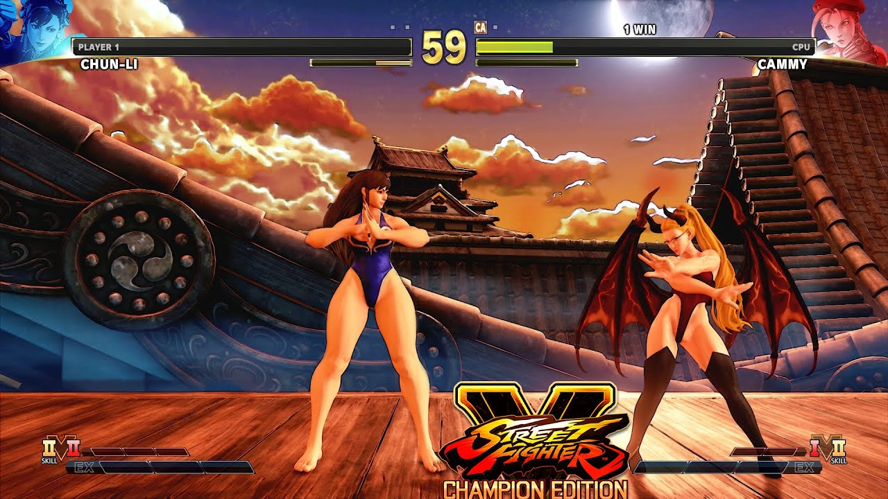 street fighter v champion edition cammy