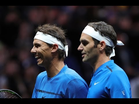 2017 Laver Cup Doubles R. Nadal/R.Federer vs. S.Querrey/J.Sock / FULL MATCH
