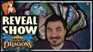 KRIPP & THE MEGA CARD REVEAL SHOW! - Hearthstone Descent of Dragons